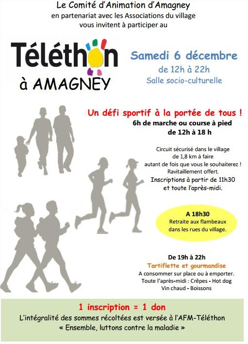 Téléthon 2014 à Amagney